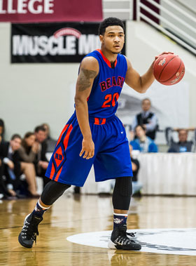 Clover Park (Lakewood) transfer David Crisp is averaging over 20 points per game for Rainier Beach this season.