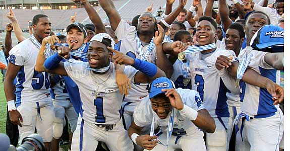 The Hawks captured Florida's Class 6A state title.