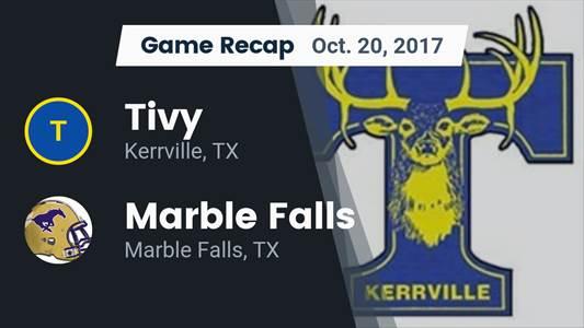 Football Game Recap: Tivy vs. Victoria West