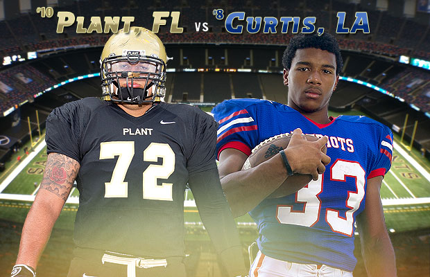 The Top 10 showdown between John Curtis and Plant has attracted national attention.