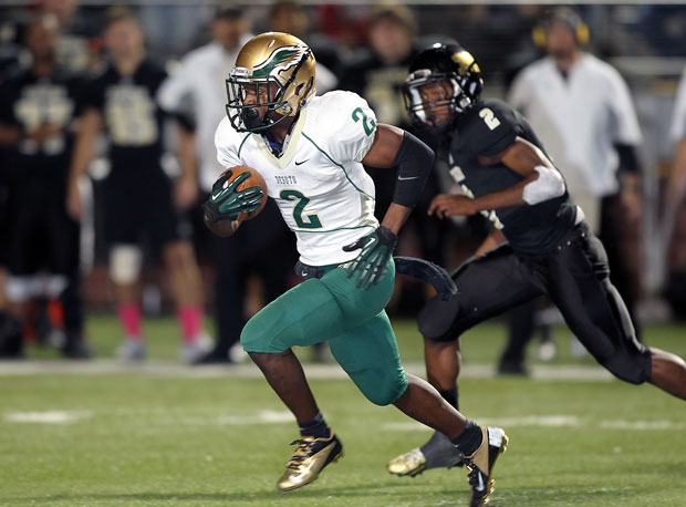 Dontre Wilson and DeSoto are projected to beat Coppell by six points this week.