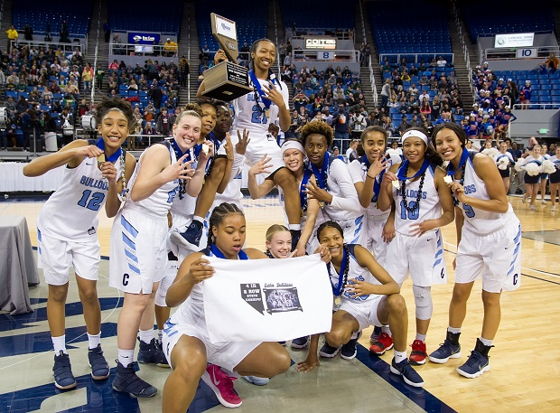 Centennial after winning its fourth straight Nevada state title.