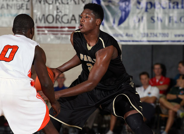 Marcus Derrickson, a recent Georgetown pledge, is one of several promising juniors on the Paul VI roster that should keep the Panthers competing at a high level for the next two years.