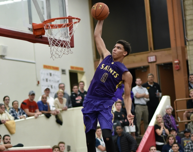Taeshon Cherry led St. Augustine to a section title in 2016-17.