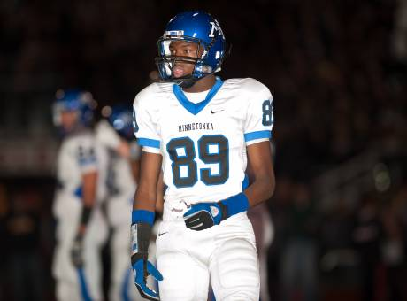 Malcolm Moore of Minnetonka is our pick as an All-State wide receiver.