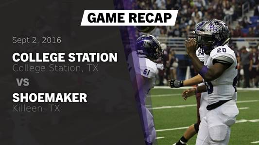 Football Game Preview: Fort Bend Marshall vs. College Station