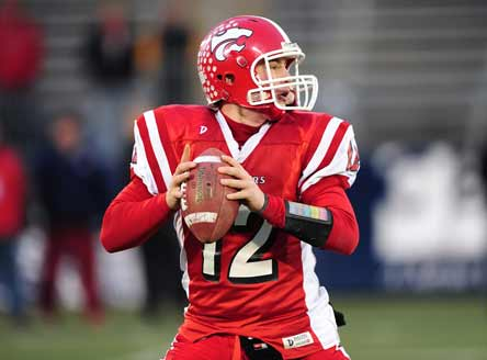 Masuk High's Casey Cochran now owns the Connecticut record for most passing yards in a career.