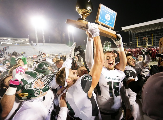 Philip Jurkovec led Pine-Richland to its first Pennsylvania state football title.