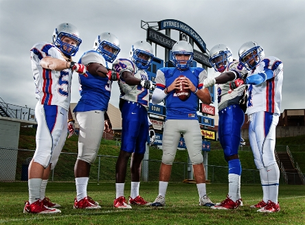 The Byrnes (S.C.) football team is ranked No. 13 nationally to start the season as it pursues its ninth title in the past 11 years.