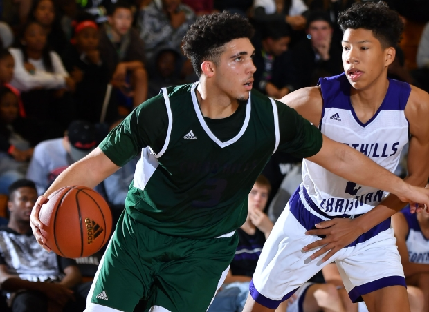 LiAngelo Ball of Chino Hills averaged over 40 points per game in five wins at the BattleZone Tournament in Southern California.